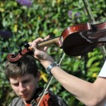 Fiddling at Westray Connections 2012